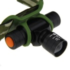 High-Power Ultra Bright 3-Mode 110-Lumen LED Headlamp w/ Cree Q3 / Camouflage Pouch (1*AA/1*14500)
