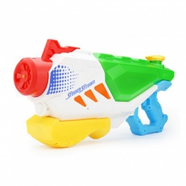 ZHAOYAO Cool Plastic Summer Beach Pressurized Children Water Gun Toy Outdoor Sports Game Squirt Gun Toy - Red