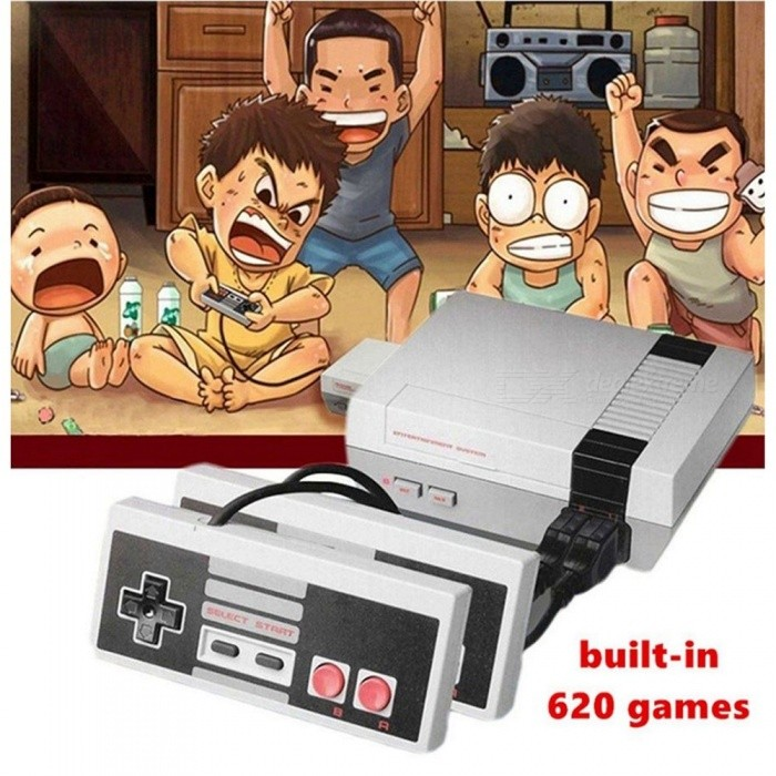 f3d251ac1ee3 NES Retro Mini TV Handheld Family Recreation Video Game Console W  Built-in 500  Classic Games (EU Plug) - Worldwide Free Shipping - DX