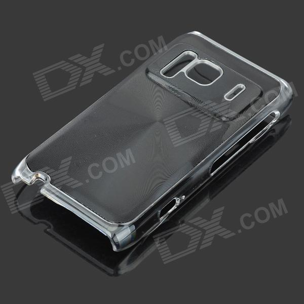 Protective Aluminum + PC Back Case with CD Grain for Nokia N8 - Black nokia n8 в сумах