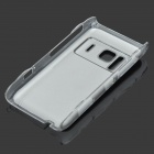 Protective Aluminum + PC Back Case with CD Grain for Nokia N8 - Black