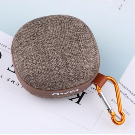 AWEI Y260 Bluetooth Speaker Mini Portable Wireless Speaker IPX4 Waterproof Kalonki Sound Box Blutooth Boombox For Comput Brown/Speaker