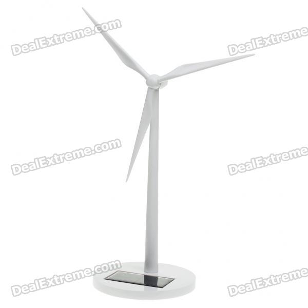 Plastic Solar Power Windmills