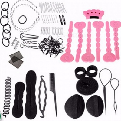 DIY Tool Hair Accessories Synthetic Wig Donuts Bud Head Band Ball Pull Hair Pin French Meatball Head Tool Sponge Disk