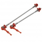 Bicycle Bike Titanium Lightest CNC Quick Release - Red