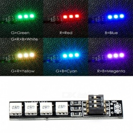 Produnio Systems RGB LED Boards 5050 16V 7 Different Colors for RC Drone FPV Racing