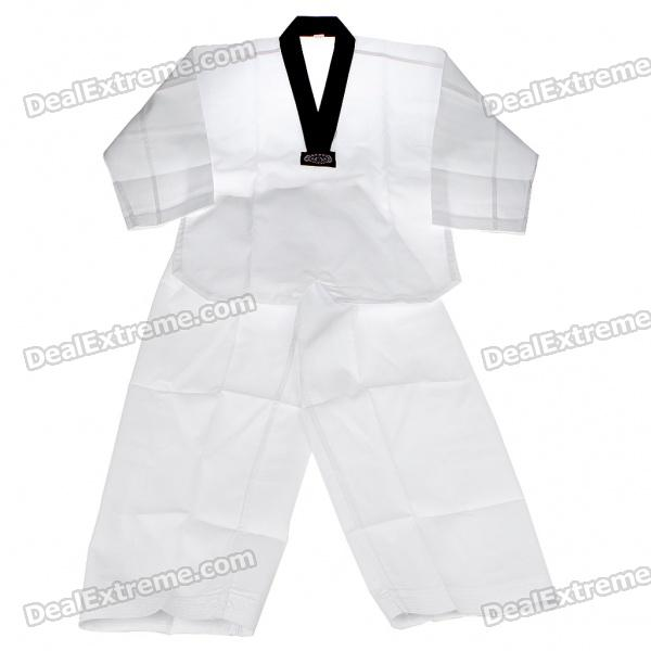 Set of 2 Karate Uniforms Costume Tops + Trouser (Suitable for Height 143~152cm)