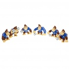 Nintendo Super Mario Football Donkey Kong Figure Toys (6-Pieces Set)