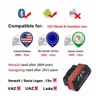 KONNWEI KW901 ELM327 Bluetooth Scanner Car Diagnostic Tool Code Reader Scan OBD2 Automotive Car Obd2 Tool Black