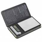 Portable Digital Pocket Scale - 100g/0.01g (1 * CR2032)