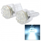 12V T20 15-LED Vehicle Lamps (2-Pack White)