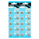 AG13 1.55V Alkaline Cell Button Battery (20-Pieces Pack)