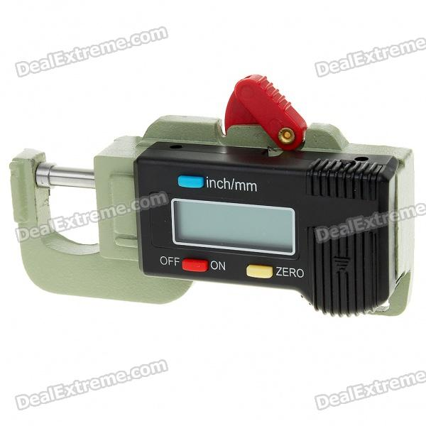 0~15mm Digital Thickness Gauge (Precision 0.01mm/1*LR44)