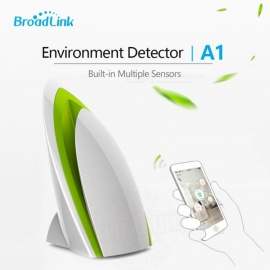 Air Quatily Detector Testing Air Humidity PM2.5 Intelligent Home Systems Broadlink A1 By WIFI/4G Infrared