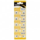 AG4 1.55V Alkaline Cell Button Batteries (20-Pieces Pack)