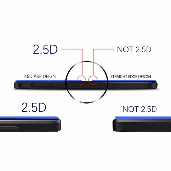 ... Cold Carving Tempered Glass Film 5D Surface Strengthening Mobile Phone Screen Protector For OPPO F5 Black