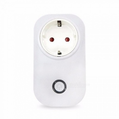 Sonoff S20 Wifi Power Socket Switch Wireless APP Remote Socket Outlet Timing Switch White