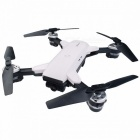 YH-19HW Foldable Drone Mini RC Selfie Drone With Camera HD WiFi  Quadcopter Dron RC Helicopter-White White
