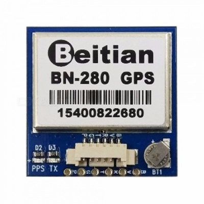 UART TTL Level GPS GLONASS Dual GNSS Module M8030 NEO-M8N Solution GPS Module With Antenna FLASH BN-280 Blue