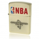 3D NBA Houston Rockets Logo Fuel Lighter - Copper