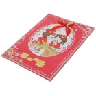 Chinese Style Happy Wedding Gast Anmelden Book - Red