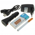 Quit Smoking Electronic Cigarettes with Chargers and 10-Refills Set (110~240V)