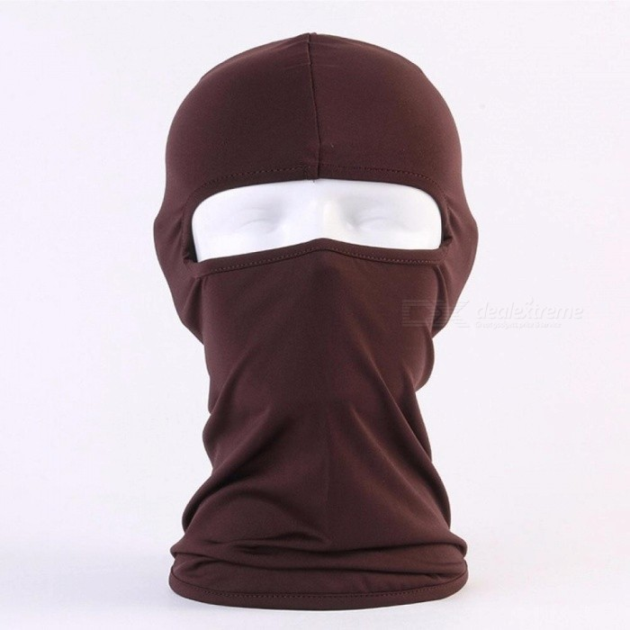 Outdoor Riding Masks Soft Equipment Bicycles Motorcycle Windscreen Sunscreen Dust CS Mask Fuchsia