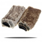 Stylish Plush Lower Leg Warmer Boots Sleeve Cover (Pair)