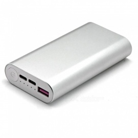 Soshine EC6 QC3.0 9000mAh External Power Bank for Mobile Phone - Silver + Rose Gold