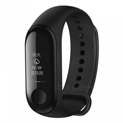 Original Xiaomi Mi band 3 OLED Heart Rate Monitor Bluetooth 4.2 Smart Bracelet Wristband (NFC / Chinese Version)