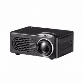 Portable Compact Mini 1080P HD Home Theater, Video LED Projector For Home / Office Use Color1