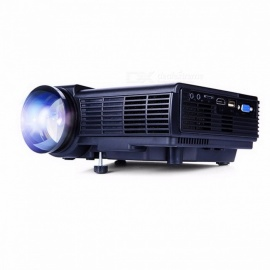 Q5 1800 Lumens Mini LED Projector For TV Home Theater, Full HD 1080P Video Media Player HDMI LCD 3D Beamer Color1