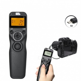 ESAMACT Wired Timer Remote Control for Canon Nikon Sony A7R A7 A6000 A5100 A3000 A58 HX300 RX100II