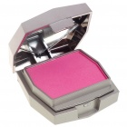 Cosmetic Makeup Blusher Rouge Kit with Brush & Mirror - Rose Red