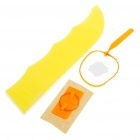 DIY Catapult Glide Flying Airplane Toy - Yellow (5-Pack)