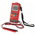 ZHAOYAO AN302 Portable Slim Card Type Digital Multimeter 8000 Counts AC DC Voltmeter Ohm Voltage Frequency Meter with LED Light