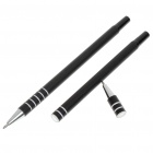 Perfect Magic Trick Pen Through Money Bill Penetration - Black (Set of 2)