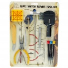 Set of 16 Professional Watch Repair Tool Kits