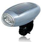 Multi-Function Solar Power White 5-LED Torch/Bike Bicycle Light with Mount (2*AA)