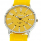 Stylish Metal + Plastic Quartz Wrist Watch - Style Assorted (1*AG4)