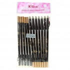 Cosmetic Makeup Eyebrow Pencil with Sharpener - Gray Brown (12-Piece Pack)
