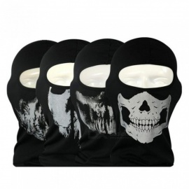 Original Ghost Masks Skull Paintball Costume Outdoor CS Halloween Airsoft Hunting Bicycling Army Tactical Full Face Mask 8#