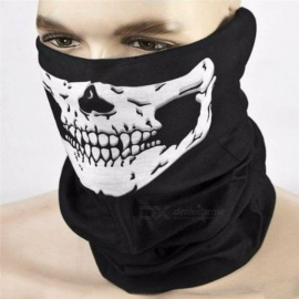 Halloween Horror Skull Mask Tease Party Props Festive Supplies Masquerade Devil Scary Bloody Bane Airsoft mask Black