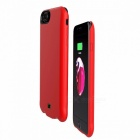 7000mAh Phone Backup Back Clip Battery Charger Case Power Bank For IPHONE 8 PLUS Red