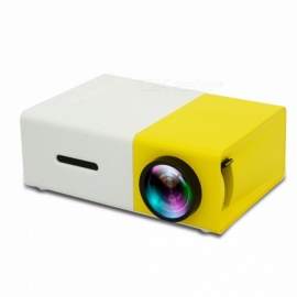YG300 Mini Portable Pocket LED Projector Beamer LCD Video Projector Gift Toy For Kids With HDMI /SD/USB Color1