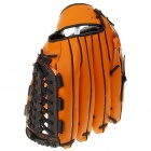 PU Leather Baseball Glove - Black + Yellow