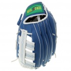 PU Leather Baseball Glove - Blue + White