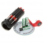 8-en-1 destornilladores Toolkit con 6-LED Flashlight (3 * AAA)