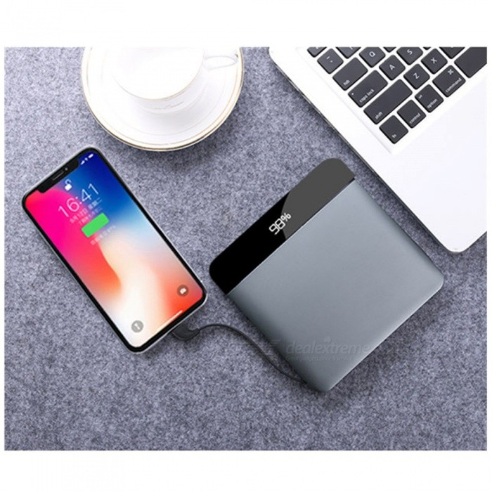 Quick Charge 3.0 2 USB Power Bank 20000mAh Type-c Portable PD Charger For iPhone Macbook Charger