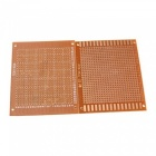 10pcs 7x9cm PCB Blank Circuit Board Prototype Paper Solder Circuit Panel - Copper